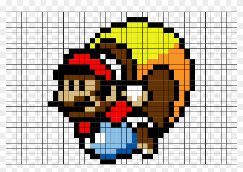 Pixel Art Mario Bros Hd Png Download 880x581 704024 Pngfind