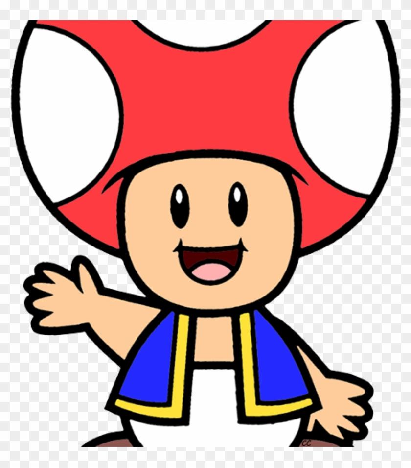 Mario toad. Clipart super bros clip