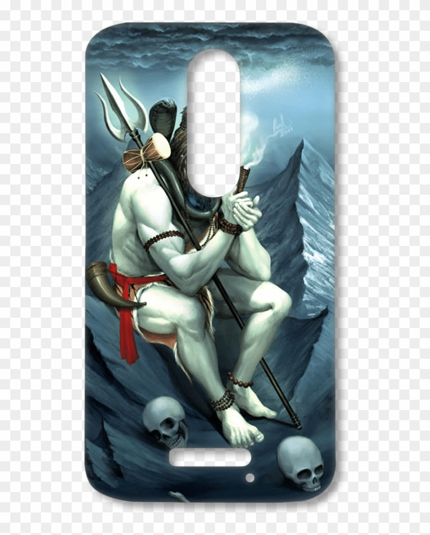 Lord Shiva Blue Shade Lord Shiva Smoking Chillum Hd Png Download 600x1050 731855 Pngfind