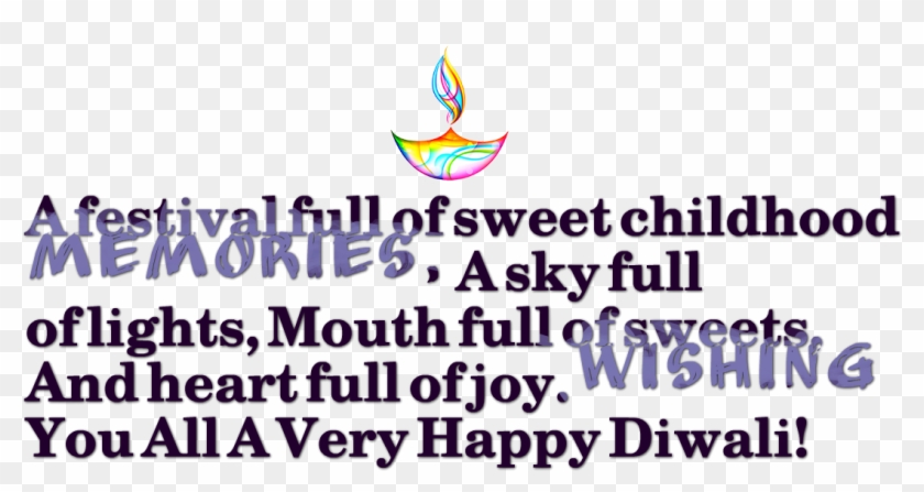 Diwali Messages Png Transparent Background - Sail, Png Download