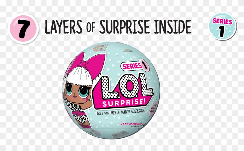 Lol Surprise Series 1 Wave 1 , Png Download - Cd, Transparent Png