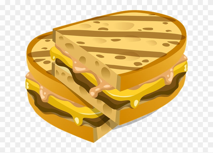 A Delicious Science Lesson Clip Art Grilled Cheese Sandwich Png Transparent Png 640x522 742563 Pngfind
