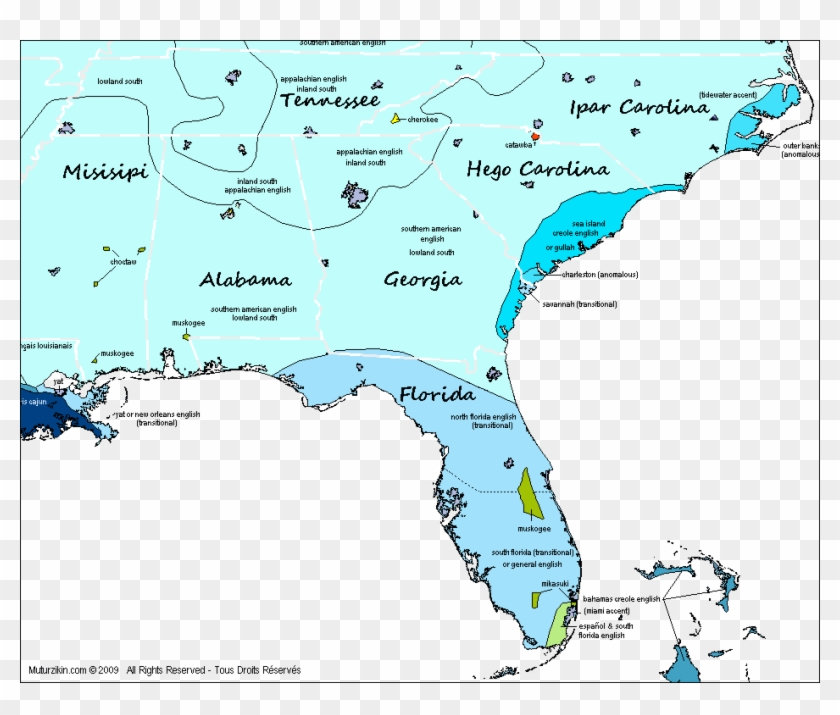 Map Of Georgia Florida And Alabama.Florida Tennessee Alabama Georgia North South Map Hd Png