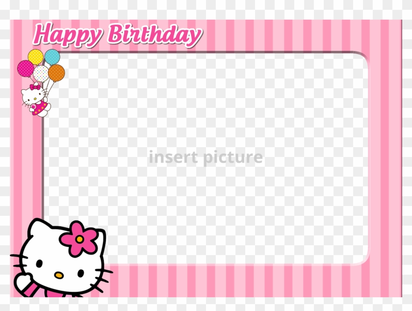 6d4f4741f61b7 Hello Kitty Photo Frame Photo - Hello Kitty Frames Png, Transparent ...