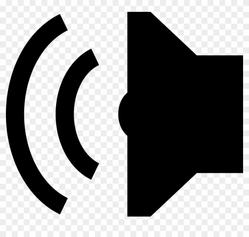 Audio Loud Music Noise Sound Speaker Volume - Audio Symbol Clipart
