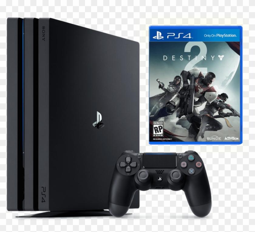 Sony Ps4 Pro Destiny 2 Bundle - Gioco Ps4 Destiny 2, HD Png