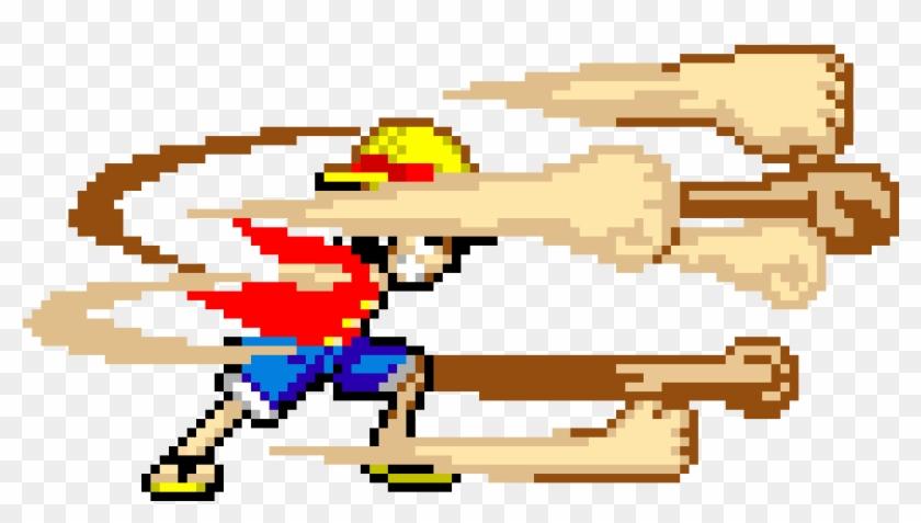 Pixel Art One Piece Png Download Onepiece Pixel Art Transparent Png 961x501 750694 Pngfind