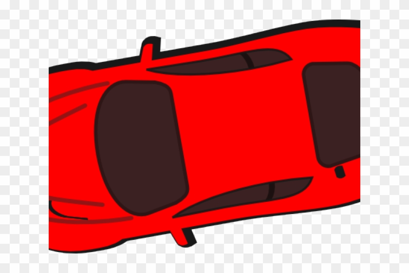 Vehicle Clipart Top View Race Car Hd Png Download 640x480