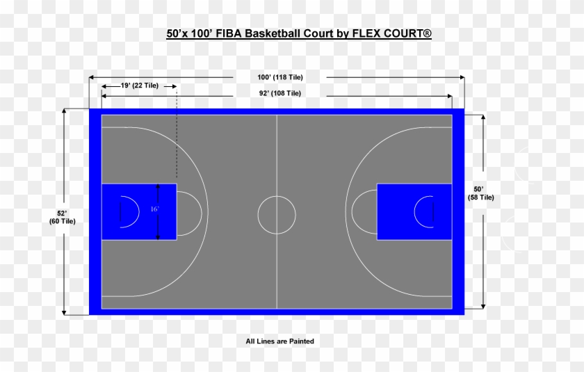Outdoor Basketball Court Template Read 10 Basketball Full