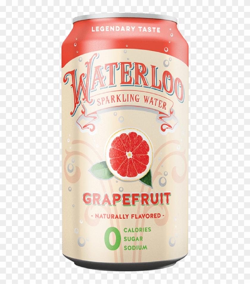 Waterloo Grapefruit - Caffeinated Drink, HD Png Download