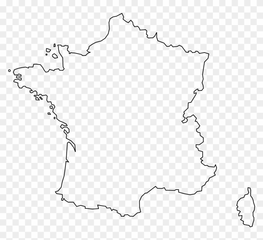 Outline Of Map Of France.Contour France Png France Map Outline Png Transparent Png