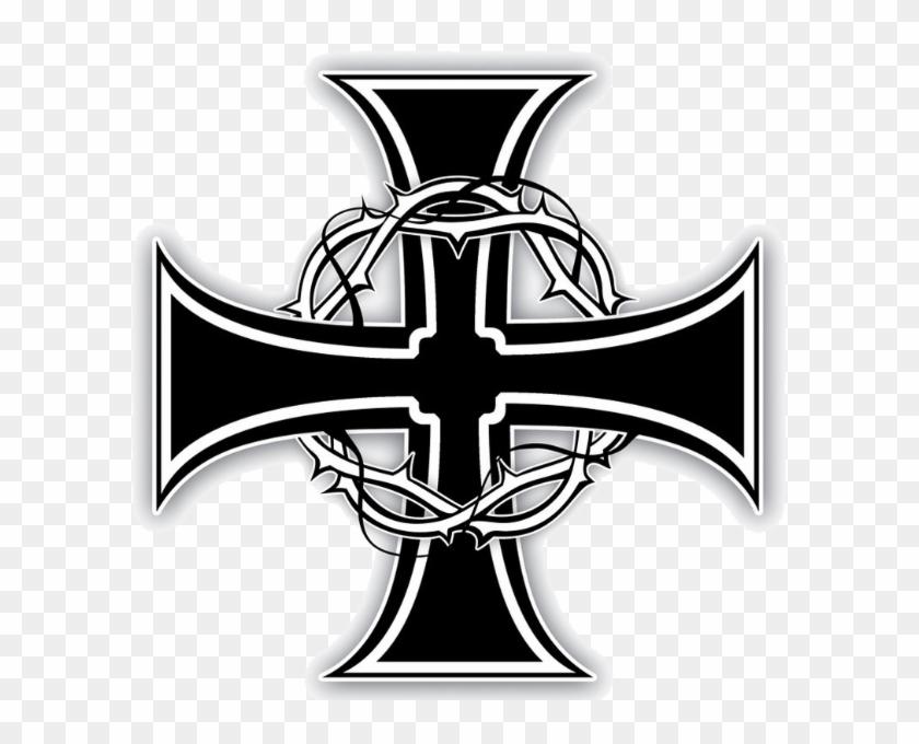 ca16274aa Clipart Transparent Cross Tattoos - Cross Knights Templar Tattoo Design, HD  Png Download