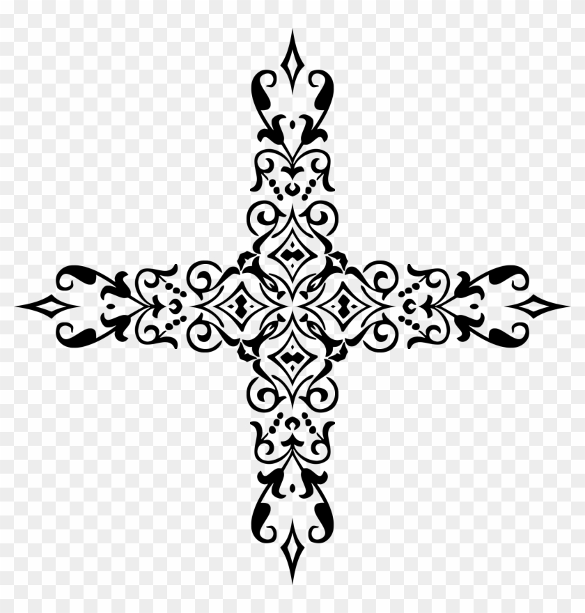 Clipart Freeuse Download Christian Cross Clipart Black