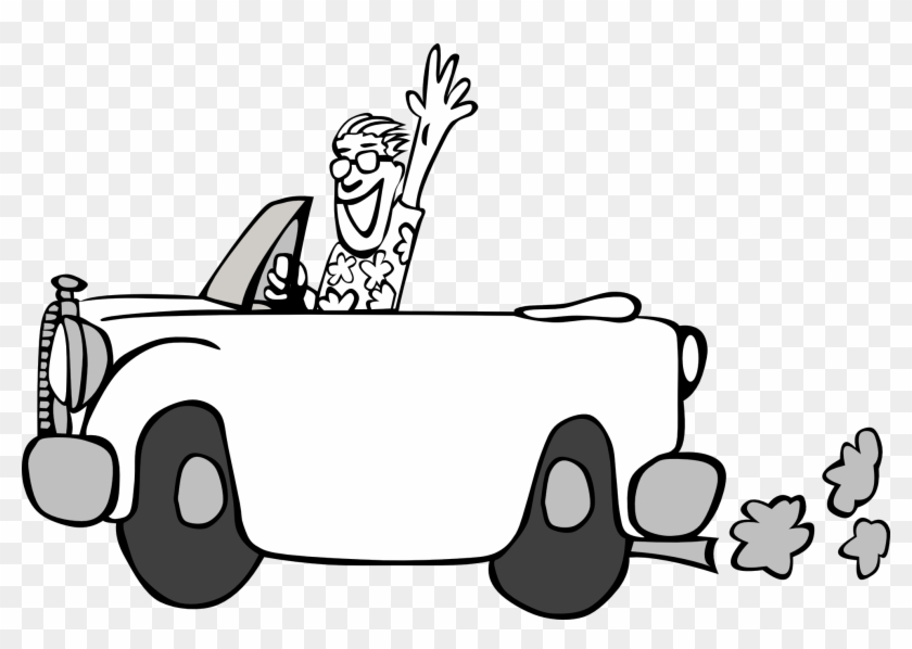 Driving On Black Ice Clipart Person In Car Transparent Background