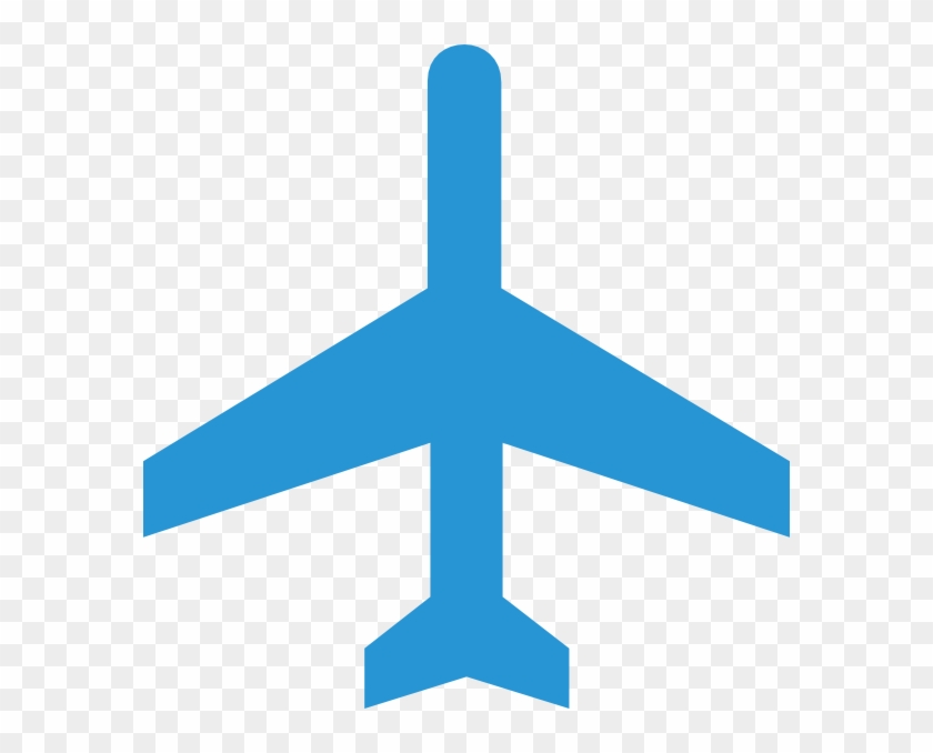 Airplane blue. Plane clip art at
