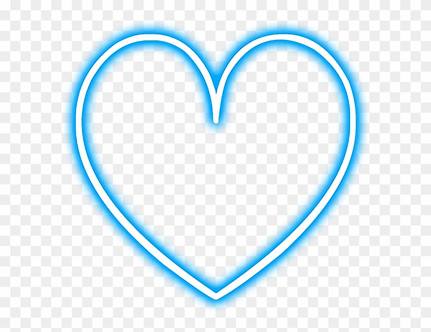 Heart Love Neon Snapchat Blue Glowing Library Png Transparent Snapchat Neon Stickers Png Png Download 598x568 778113 Pngfind
