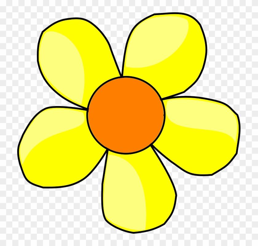 Daisy Flower Petals , Flowers Cartoon Png Yellow