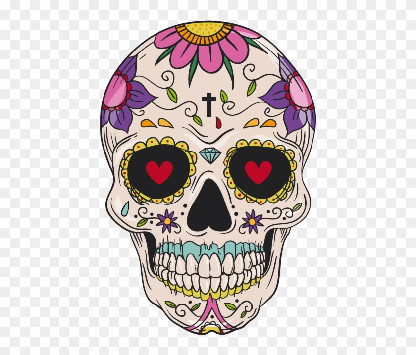 foto de And Cuisine Mexican Skull Calavera Idea Pattern Clipart Day Of The Dead Phone Cases HD Png