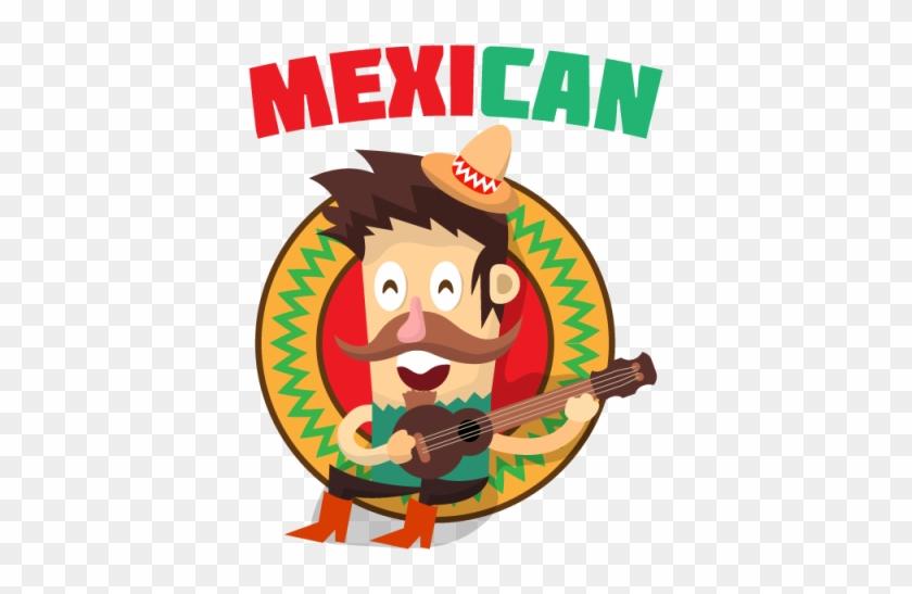 Guitarra Desenho Animado Mexicano Viol O Cartoon Mexicano