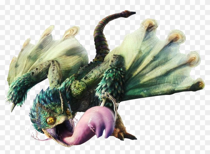 Pukei-pukei - Monster Hunter World Monsters, HD Png Download