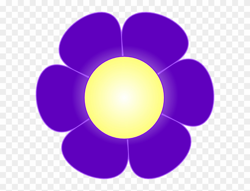 Original Png Clip Art File Purple Daisy Flower, Svg, Transparent Png