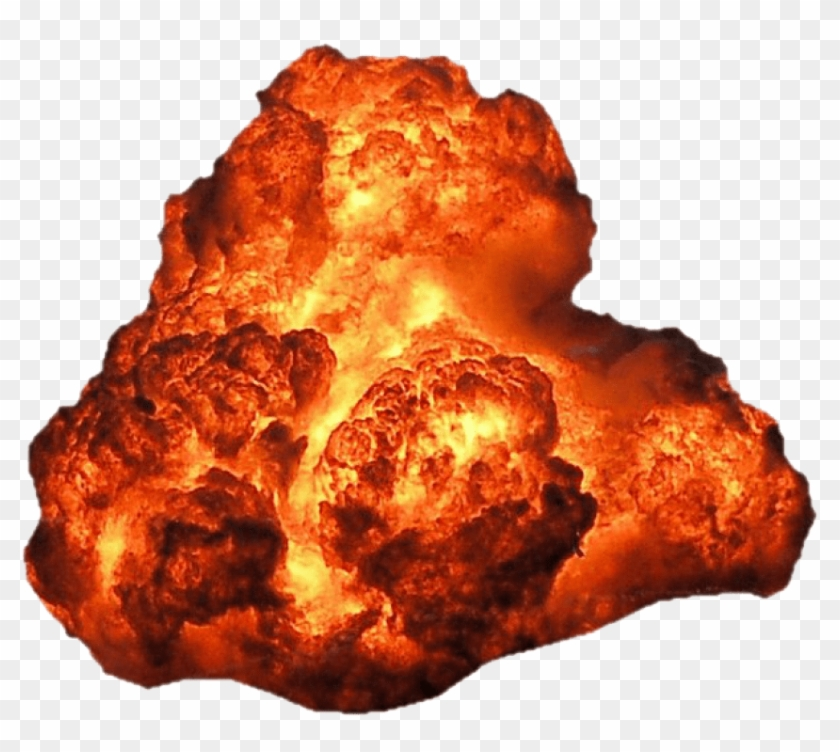 Free Png Big Explosion With Fire And Smoke Png - Explosion