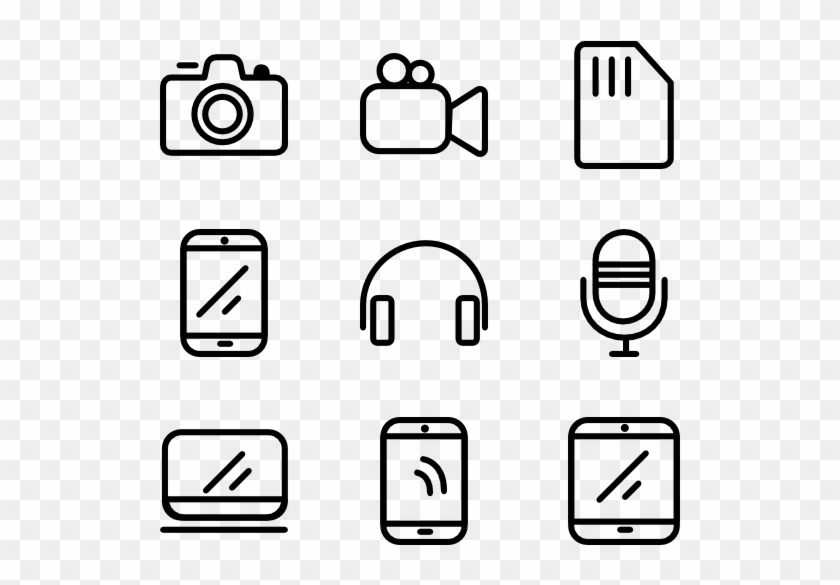 Desktop And Gadgets Assets - Interface Icons, HD Png