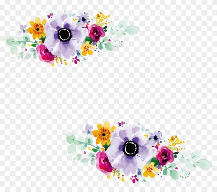 Free Png Download Flower Design For Wedding Invitation Flowers