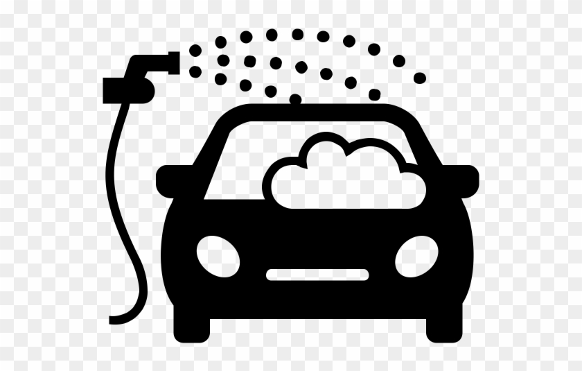 28 Collection Of Car Wash Clipart Black And White Car Wash Icon
