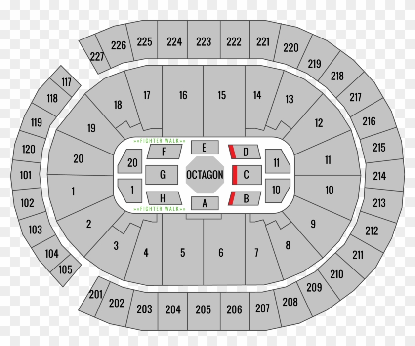 tmobile arena seating chart