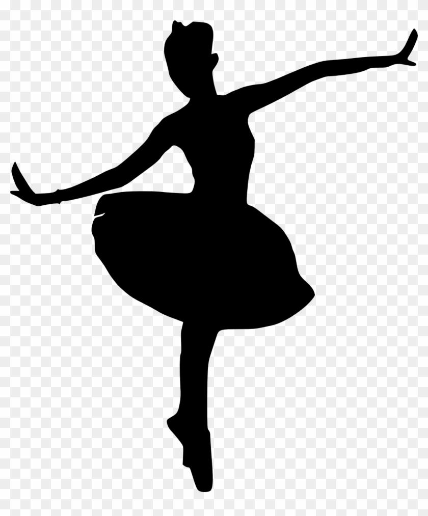 image regarding Printable Ballerina Silhouette referred to as 20 Ballerina Silhouette - Dancer Silhouette Clear
