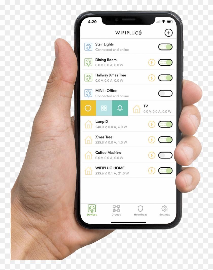 Smart Plug - Homekit Switch - Homekit Plug - Hand Holding