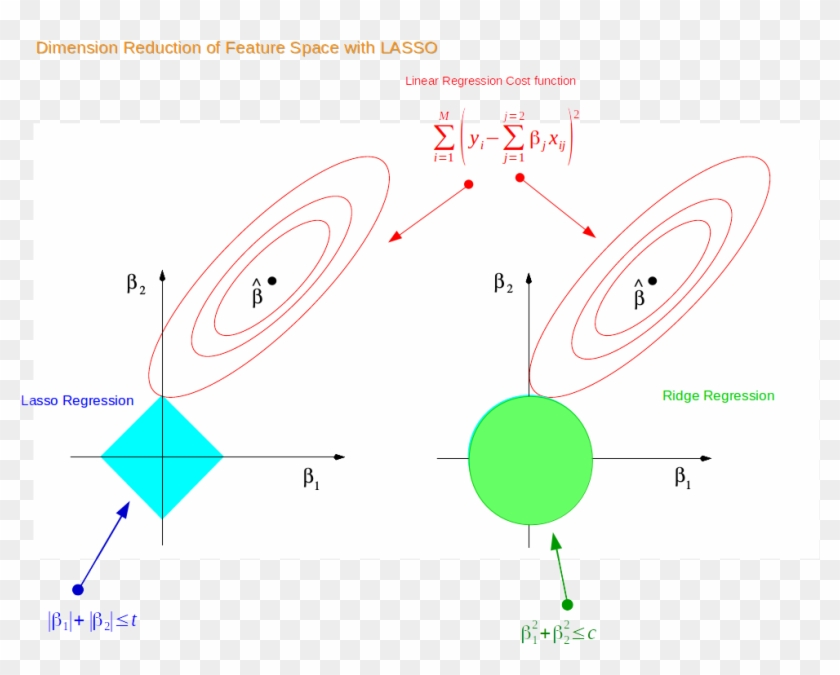 Why Lasso Can Reduce Dimension Of Feature Space Example