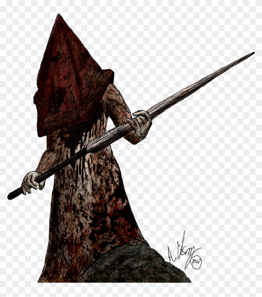 Pyramid Head Download Png Image El Carnicero Silent Hill
