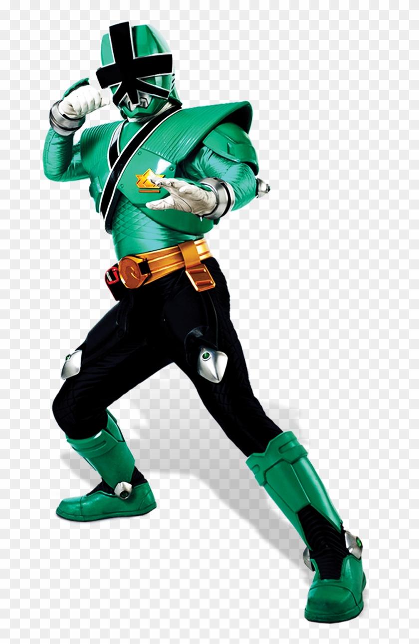 Power Ranger Samurai Png - Green Power Ranger Png