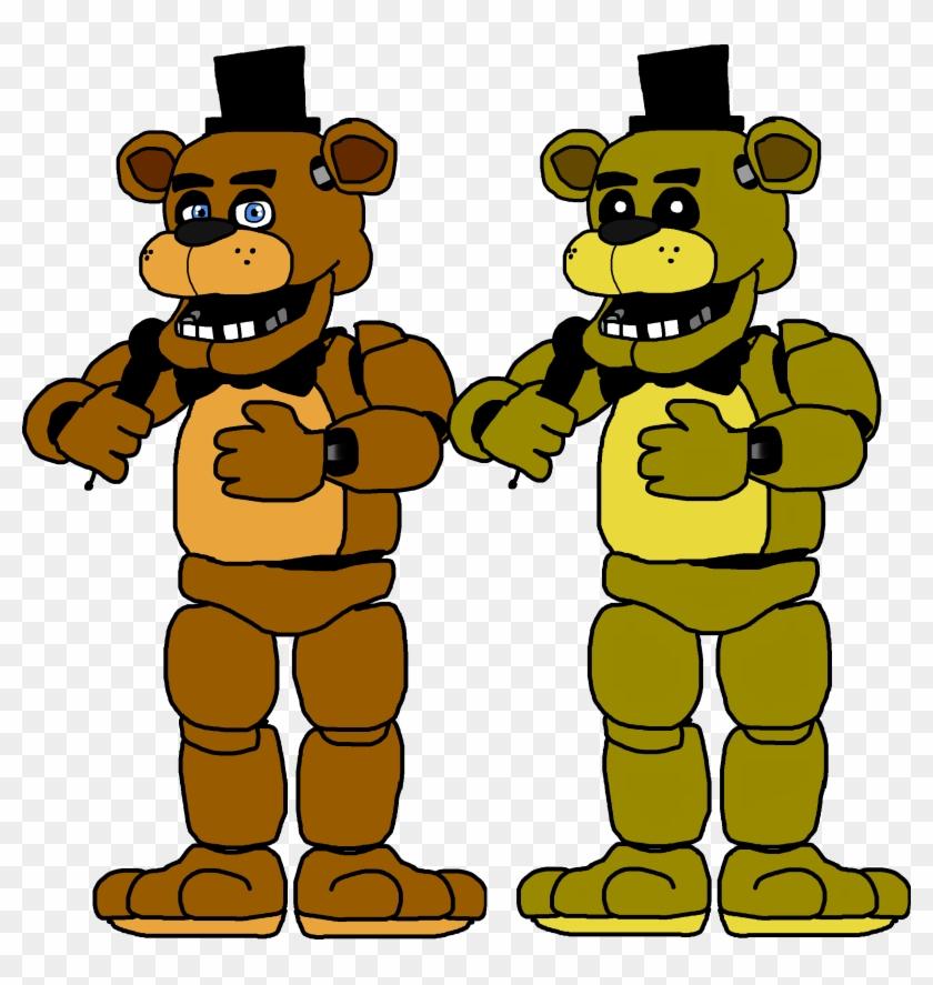 Golden Freddy Fazbear Drawing - Fnaf 1 Freddy Drawing, HD