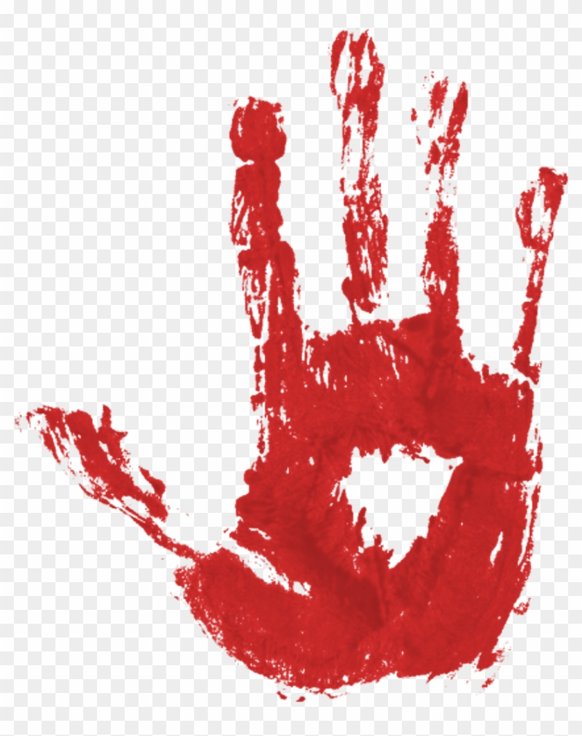 Blood Hand Print Pgntreecom Bloody Halloween - Bloody