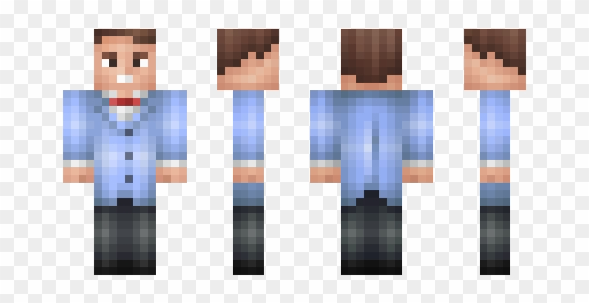 Skin Rick Grimes Minecraft Pe, HD Png Download - 750x442