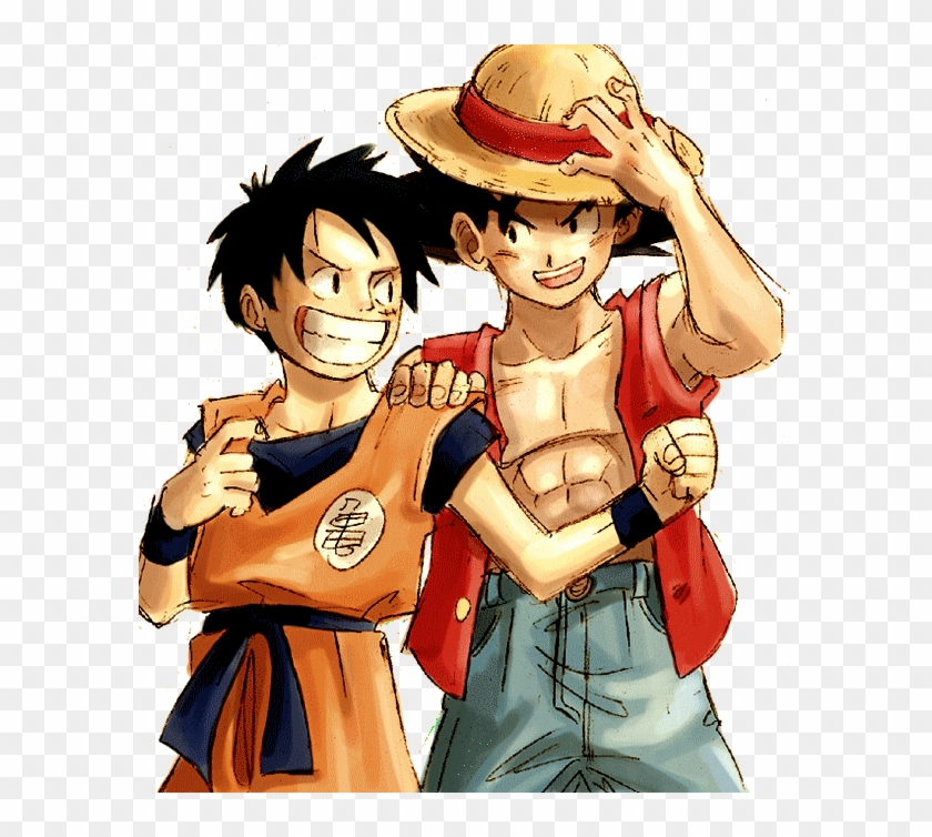 Anime Debate Images Goku And Luffy Wallpaper And Background