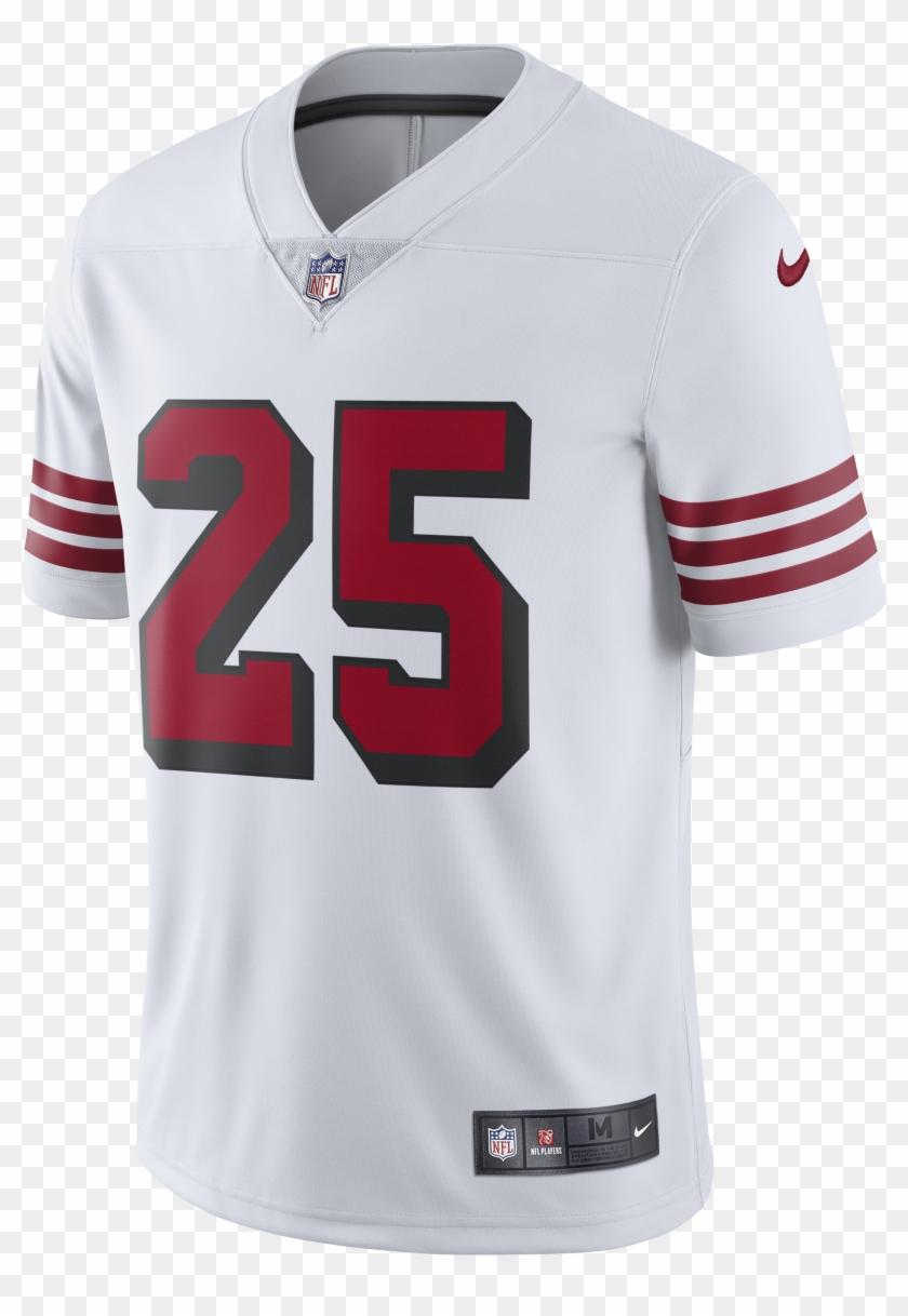 competitive price 1b4aa d72a7 Richard Sherman 49ers New Throwback Alternate Uniform - San ...