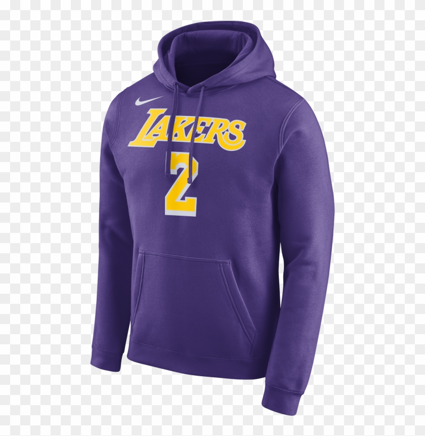 39676563b Nike Nba Los Angeles Lakers Lonzo Ball Hoodie Por €65