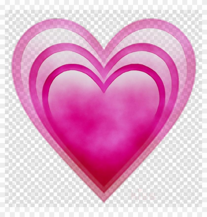 Transparent Heart Image - Heart Emoji Transparent Background, HD Png