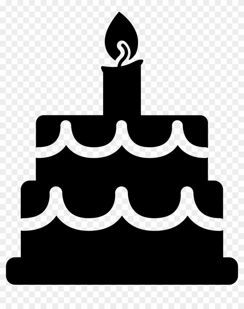 Birthday Cake Comments Birthday Cake Vector Icon Hd Png Download 836x980 891021 Pngfind