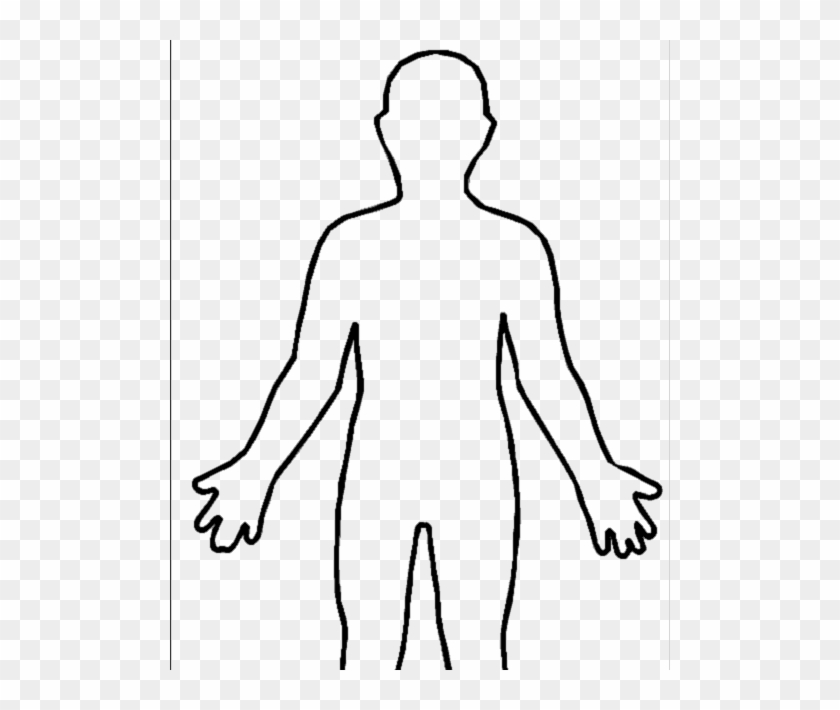 Body transparent. Chalk outline png centerline