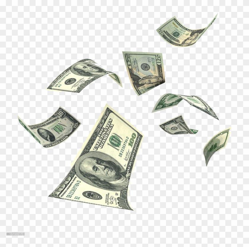 Money falling. Png background clipart transparent
