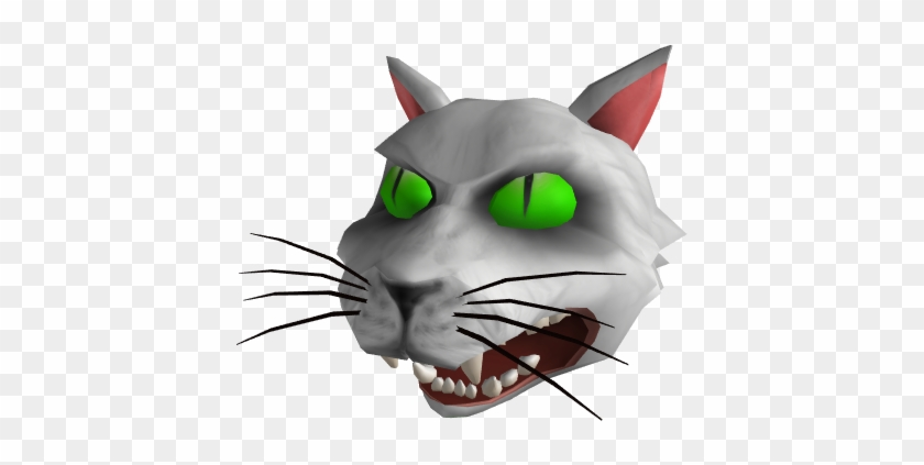 Possessed Cat Head Possessed Cat Head Roblox Hd Png Download