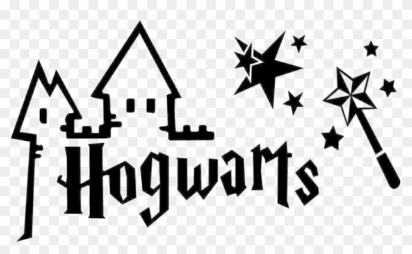 Harry potter logo. Hogwarts png clipart background