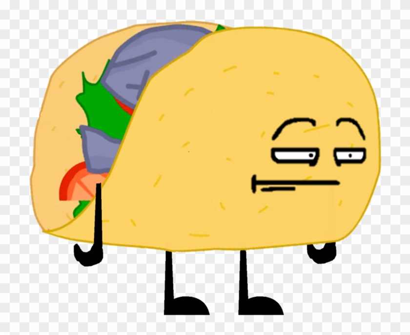 Bfdi Taco Pose 3 - Taco, HD Png Download - 864x768(#910980