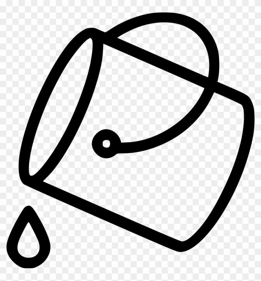 Png File Svg - Transparent Paint Bucket Icon, Png Download