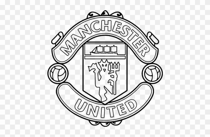 13+ Manchester United Logo Black And White